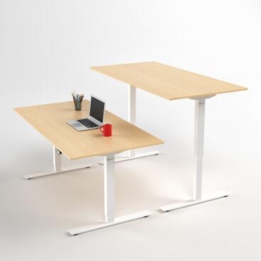 hoj-och-sankbart-skrivbord-vitt-stativ-och-bjork-skiva