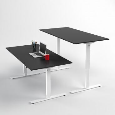 hoj-och-sankbart-skrivbord-vitt-stativ-och-svart-skiva